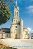 17 - Saint Georges De Didonne - L'église Sur Une Place Du Centre Ville - CPM - Voir Scans Recto-Verso - Saint-Georges-de-Didonne