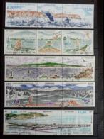 SAINT PIERRE Et MIQUELON. 1988 à 1996. 5 Tryptiques Oblitérés . Côte Yvert 2015  : 27,00 € - Oblitérés
