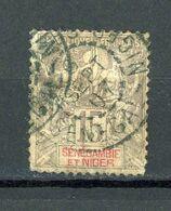 SENEGAMBIE ET NIGER - RF - DIVERS - N° Yvert 6 Obli. - Used Stamps