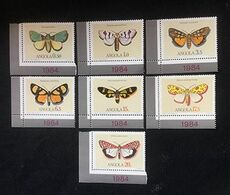 ANGOLA - Papillons - Y&T N° 680-686 - Angola