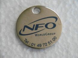 Jeton De Caddies NFO WorldGroup - Jetons De Caddies