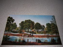 1861 SHADOWS-on-the-TECHE, NEW IBERIA LOUISIANA ART POSTCARD By ADRIEN PERSAC - Other
