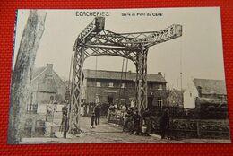 BELOEIL - ECACHERIES  -  Gare Et Pont Du Canal - Beloeil