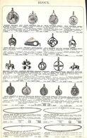 Feuillet Richement Illustré +1925 Bijoux Breloguqe Médaille Chaîne Tour De Cou Boutons De Manchettes - 1900 – 1949