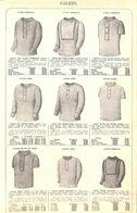 Feuillet Richement Illustré +1925 Gilets Coton Laine  Vareuses Laine... - 1900 – 1949
