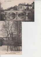 86 CIVRAY  -  2 CARTES  - - Civray