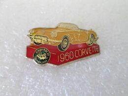 PIN'S   CHEVROLET  CORVETTE   1960 - Corvette