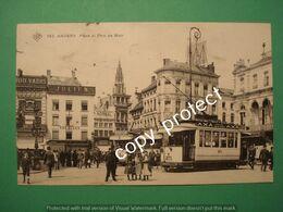 PNRJ35 Atwerpen Anvers Palce At Pont De Meir Electrocar 3x Tram Hotels - Antwerpen