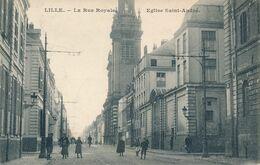 Lille CS La Rue Royale Eglise Saint André Plutot Rare TBE - Lille