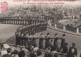 FRANCE - Aix En Provence 1950 - Cinquentenaire Du Carnaval - Corso Carnavalesque - Le Monome Traditionnel Des Gadz'Arts - Aix En Provence