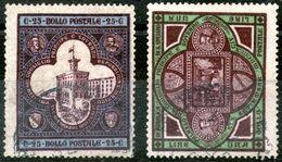 San Marino,1894,Y&T#23/25,Sassone 23+25,used,as Scan - Saint-Marin
