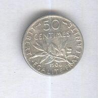 50 Centimes France 1906 - TB - France