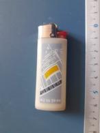 Briquet Publicitaire Usagé  - Bic - GESER (nettoyage Industriel) - Autres