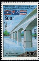 Laos - 1994 - Mittaphab Bridge - Mint Stamp - Laos