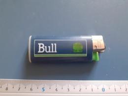 Briquet Publicitaire Usagé  - Bic - BULL - Autres