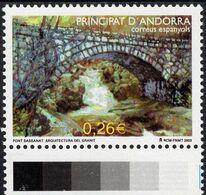 Spanish Andorra - 2003 - Sassanat Bridge - Mint Stamp - Andorra Española