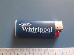 Briquet Publicitaire Usagé  - Bic - Whirlpool - Andere
