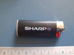 Briquet Publicitaire Usagé  - Bic - SHARP - Andere