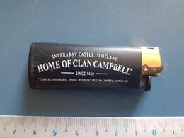 Briquet Publicitaire Usagé  - Bic - Home Of Clan Campbell - Andere