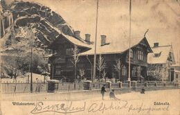 UDDEVALLA SWEDEN~WILLAKVARTERET~1909 PHOTO POSTCARD 48897 - Sweden