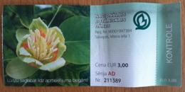 Latvia National Botanical Garden Ticket - Tickets - Vouchers