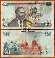 Kenya 50 Shillings 2010 UNC P-47e - Kenia