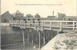 CPA Courseulles Pont En Bois Sur La Seulles - Courseulles-sur-Mer