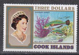Cook Islands 1993 - Mi.Nr. 1393 - Postfrisch MNH - Tiere Animals Fische Fishes - Pesci