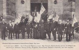 88-MENIL SUR BELVITTE SUR LE PORTAIL DE L EGLISE - Other Municipalities