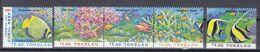 Tokelau Inseln 1997 - Mi.Nr. 253 - 257 - Postfrisch MNH - Tiere Animals Fische Fishes - Pesci