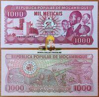 Mozambique 1000 Meticais 1989 UNC P-132c - Mozambique