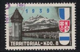 Suisse /Schweiz/Switzerland // Vignette Militaire // Troupe Territoriale, Kdo.8 - Viñetas