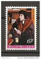BELGIO - 1967 QUENTIN METSYS Ritratto Di Pierre Gilles Teologo (Galleria Nazionale Palazzo Barberini, Roma) Nuovo** MNH - Teologi