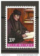 BELGIO - 1967 QUENTIN METSYS Ritratto Di Erasmo Da Rotterdam Teologo (Galleria Naz. Palazzo Barberini, Roma) Nuovo** MNH - Teologi