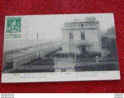 MILITARIA - SAINTE ADRESSE  -  1914 -  Le Salut Au Drapeau Belge Au Ministère De La Guerre - Sainte Adresse