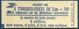 Yv 2274 C1a - Liberté De Delacroix 2,00 Rouge - Sans Conf. - Ouvert - Markenheftchen