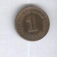1 Pfennig Allemagne / Germany 1906 J - TTB+ - [ 2] 1871-1918: Deutsches Kaiserreich