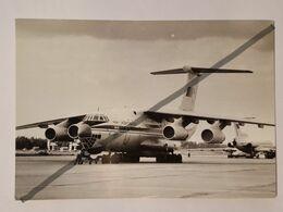 Photo Vintage. Original. Avion IL-76. Aeroflot De L'URSS. Lettonie - Aviation