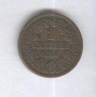 1 Kreuzer Baden 1860 - [ 2] 1871-1918: Deutsches Kaiserreich
