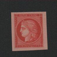 Reproduction N° 7 1 F Cérès Neuf Sans Gomme - 1849-1850 Ceres