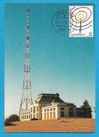 Luxembourg  1996  Mi.Nr. 1393 , 100 Jahre Radio - Maximum Card - Premier Jour 20.-5. 1996 - Maximum Cards