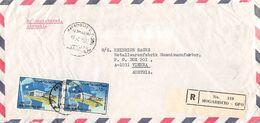 SOMALIA - AIRMAIL RECO 1972 MOGADISCIO - VIENNA /AS149 - Somalia (1960-...)
