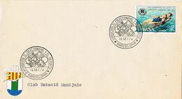 37692. Carta Barcelona 1976. Exposicion Coleccionismo Y Deporte. Club Natacion Montjuich - 1931-Aujourd'hui: II. République - ....Juan Carlos I