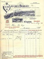"CLEVE 1909 Farbige Besonders Deko "" Van Den Bergh's Margarinefabrik "" - Alimentare"