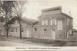 COSNE ROTATICKETS Imprimerie Route Nationale 7 - Cosne Cours Sur Loire