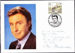 Österreich Austria Autriche - Grußkarte Von Peter Alexander (MiNr: 2089) 1994 - Karte ! LESEN - 1991-00 Cartas
