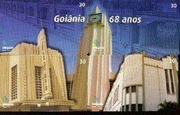 Brazil 0402 GO 2001 (puzzle) Série: Goiania 68 Anos (4 Cts) - REF.0402 - Puzzle