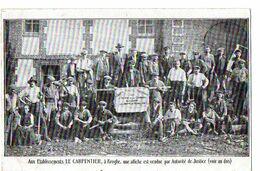 BROGLIE - Aux Etablissements LE CARPENTIER, Une Affiche Est Vendue Par Autorité De Justice (Voir 2è Scan) - Sonstige Gemeinden