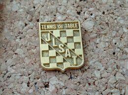 PINS TENNIS DE TABLE JLSAT TETEGHEM DORE 24 CARATS (59) - Tennis Tavolo