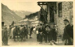 AK Martell 1936 Einwohner Vom Martelltal / Val Martello Pferdekutsche - Morter Goldrain Schlanders - Autres Villes